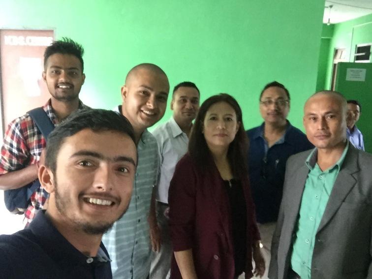 Team WSOS and RM&DD Officials sharing a selfie frame.