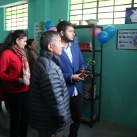 READING CORNER INSTALLED BY WSOS INAUGURATED AT PACHEYKHANI SCHOOL