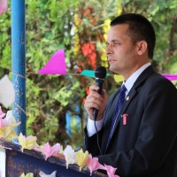 Library upgraded by WSOS inaugurated at Mamring School